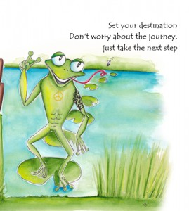 Just take the next step!