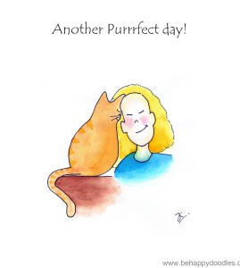 Another purrrfect day!