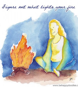 Figure out what lights your fire