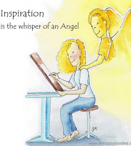 Inspiration is the Whisper of an Angel