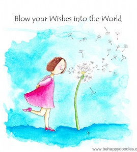 Blow your Wishes into the World