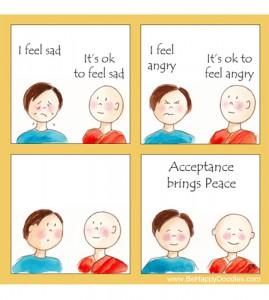 Acceptance brings Peace