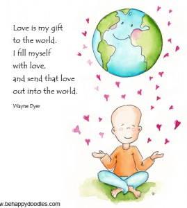 Love is my gift to the world!
