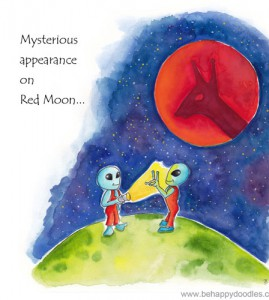 Mystery on Red Moon